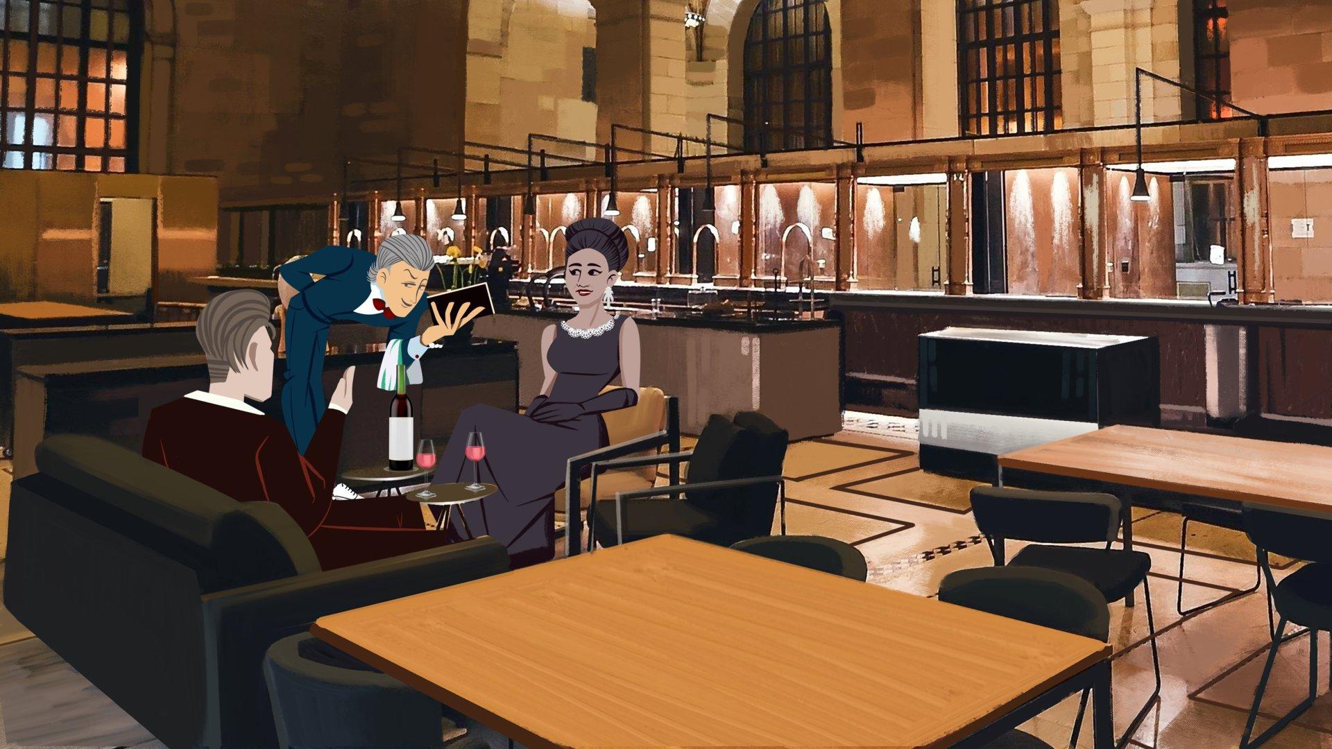 בַּמִּסְעָדָה / In the restaurant